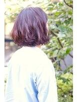 バンビーニ【外国人風カラー】ハイライト+ラズベリーピンク
