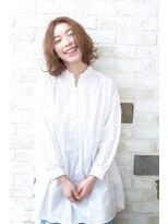 ヘアモイジャ(Hair Moija)抜け感ミックス☆ミディアムボブ