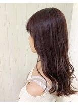 ラ ブランシュ 大宮(La Blanche)【大宮東口】透明感可愛いラベンダーアッシュ/イルミナ/髪質改善