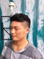 ジュノ ヘアー(JUNO HAIR)外国人風フロントツーブロックショート