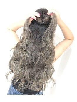 マウナ ヘアー(MAUNA HAIR)の写真/《インスタ映えStyle人気です♪》外国人風カラー・ハイライトデザインはMAUNAにお任せください◎