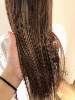 リコ(Lico)の写真/ダメージでお悩みの方に◎業界最先端!髪質改善☆酸熱トリートメントで思わず触れたくなるさらツヤ髪に♪