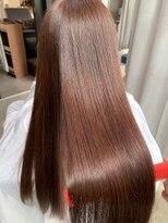 【ソムリエ蛇石】ツヤ髪ピンクベージュ水素トリートメントカラー