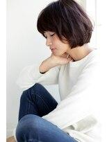 ウル(HOULe)【HOULe】大人女子に人気!暗髪☆美シルエットボブ★