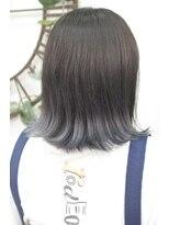 ヘアーサロン エール 原宿(hair salon ailes)(ailes 原宿)style361 デザインカラー☆エンドシルバーグレー