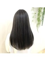 ネオヘアー 曳舟店(NEO Hair)ダークグレー×ハイライト☆【曳舟】
