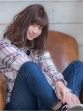 オーブ ヘアー ガーデン 渋谷店(AUBE hair garden)カジュアル×ヘルシーなやわらかウェーブ