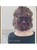 ゆるふわハーフ 【hair arrange】