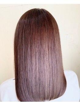 ディアモデュクス(Diamo deux)の写真/【数十秒施術なのにさらさら2週間持続】ウォータートリートメントが忙しい方に人気◎N.のTrは芯から強髪へ