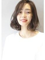 ヘアサロンガリカアオヤマ(hair salon Gallica aoyama)☆ グレージュ & 毛束感 ☆ひし形シルエット ミニマムボブ♪