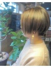 ルーナヘアー(LUNA hair)『京都 山科 ルーナ』大人マニッシュショート【草木真一郎】