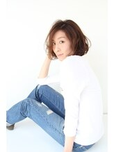 イソラヘアアトリエ(Isola hair atelier)【Isola】大人ふわくしゅ×ボブ
