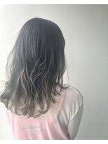 ヘアメイク オブジェ(hair make objet)グレージュグラデーション☆★KAI☆★