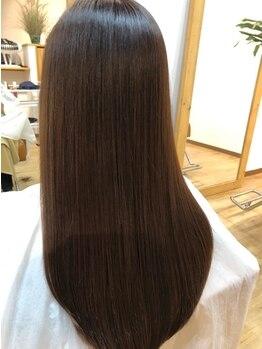 """リーフ(reaf)の写真/1人1人の""""自分らしい綺麗""""を叶える納得の技術とデザイン術☆美しい素髪と似合うスタイルを手に入れましょ♪"""