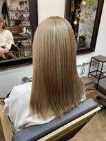 コレット ヘアー 大通(Colette hair)ミルクティーベージュ