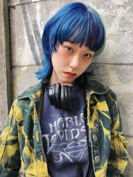 レコ(LECO)マッシュウルフ×ブルーデザイン