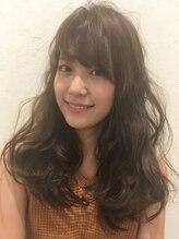 モネモネ(mone*mone)『Hair mone mone』☆ラフ前髪×抜け感パーマ