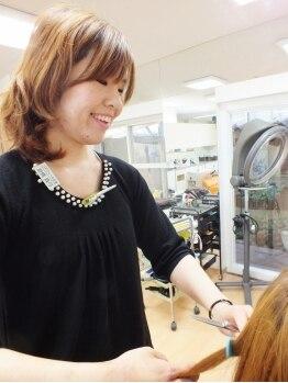 コアフィールみま 徳島店の写真/【女性stylistのみ在籍】心のこもった接客やおもてなしにファン多数!!アットホームなほっこり癒し系salon♪