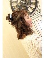 ヘアセットサロン アトリエ チャイ(Hair set salon atelier CHAI)カジュアルお団子
