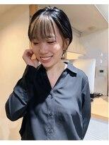 ストア バイ アンバースデー(Store by UNBIRTHDAY)フェイスフレーミング/前髪ハイライト【新田知鶴】