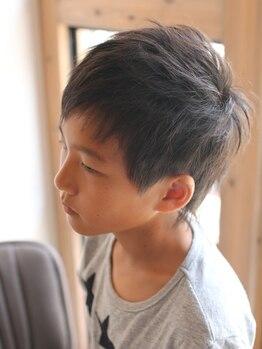 ヘア イコール(hair equal)の写真/【三国/キッズスペースあり】セット面から見えて安心◎親子でかわいい・かっこよくなれる限定クーポンも☆