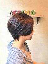 ヘアーメイク アフィーノ(hair make affino)襟足スッキリ