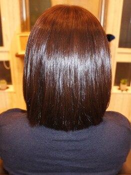 """ミュウズ(MIEUXS)の写真/""""本当の髪質改善はココにあった♪""""口コミでも大人気の【MIEUXS】まっすぐ過ぎないナチュラルストレートへ☆"""