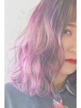リルトヘアー(Lilt hair)【Lilt hair】ユニコーンカラー☆ピンク×ブルー×パープル