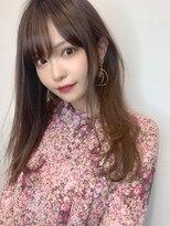 『ワンカールカット+シアーベージュ』10代20代30代◎SC☆11美髪