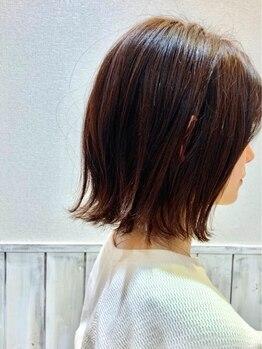ディーズ 三馬店(D's)の写真/【カット¥2600~】髪のクセや顔の輪郭など一人ひとりの個性に合わせて繊細に♪