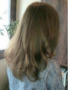アミエ(amie)の写真/【阪神御影1分】美容業界で話題!イルミナカラーでツヤ髪に♪ダメージの少ない薬剤でイメージの色が叶う!
