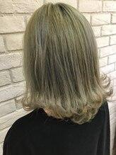 ヘアーガーデン ハッカドウ(hair garden 髪花堂)clear collar
