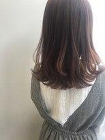 ツイギー 千舟店(TWiGGY)レイヤーセミディ×春のピンクブラウン