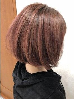 レーヴ(Reve)の写真/【オーガニックオイル配合カラー】うるツヤ×透明感×発色で理想の髪色が叶う♪スロウカラーもお任せ!