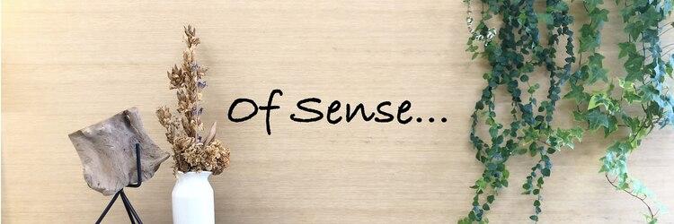 オブ センス(Of Sense)のサロンヘッダー