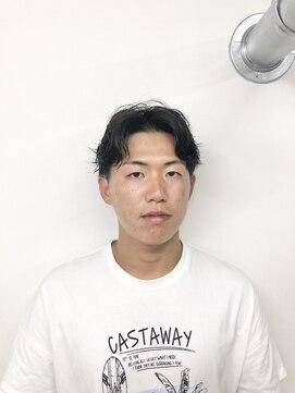 アブアイロス(LOSS)【stylist/shogo】スパイラル/センターパート