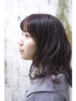 マルカ(marca)【marca】透け感ラベンダーインナーカラー♪ 担当三上