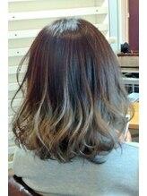 グラヴィティヘア(Gravity hair)グラデーションカラー