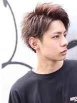 リップス 渋谷(LIPPS)かきあげ前髪横顔爽やかアップバングショート