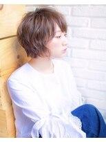 ロンドフルール 大宮東口(Lond fleur)【Lond fleur】ゆるふわショートのデザインカラー