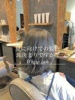 ダブルケーツー 倉敷店(wk-two)☆夏カラーwhite ash☆