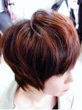 ニューヘアー(New Hair)3Dカラーで魅せる立体感ショート