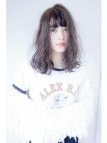ヴィークス ヘア(vicus hair)【vicus hair】ロブ×グレージュ