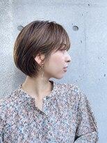 リッカ レンネ たまプラーザ(Lycka Lenne)丸みが可愛いミニボブ