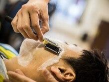 モッズヘア メン 南越谷南口店(mod's hair men)の雰囲気(丁寧なシェービング技術もご好評。【越谷】【南越谷】<理容室>)