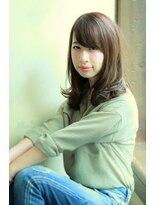 エルアール コウベ(LR KOBE)【LR KOBE】バイオレットグレージュ×抜け感ツヤカール渡邉 2