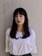 ノイエ(noie)noie杉山舞☆黒髪×ダークトーン×ニュアンスワンカール