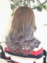 ヘアーサロン エール 原宿(hair salon ailes)(ailes 原宿)style353ひし形シルエット☆パープルグラデーション
