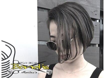 ヘアー ワークス ボンズ マリナーズ(Hair works Bond's marinas )の写真