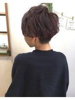 ヘアーデザイン アコースティック(Hair Design ACOUSTIC)ショートスタイル♪カラーでオシャレ度アップ